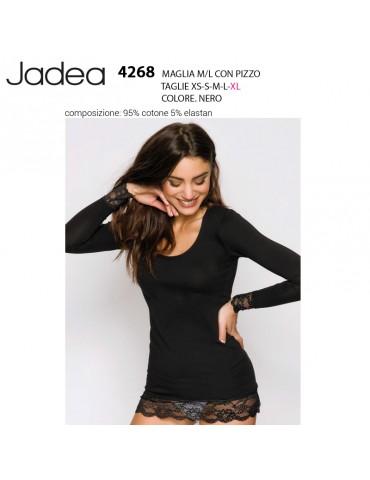 Maglia Jadea m/l con pizzo...