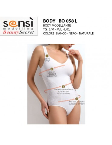 Body modellante Sensì...