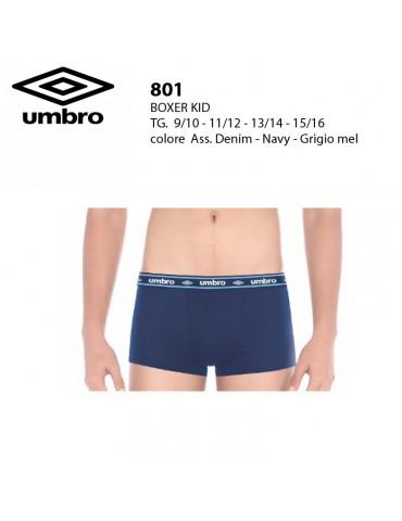 Boxer bimbo Umbro art.801 pz.6