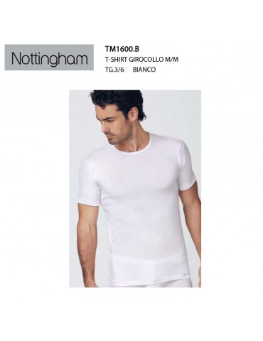 T-shirt girocollo m/m...