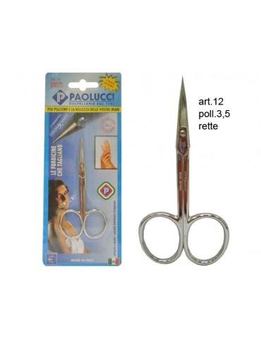Forbice Manicure Retta...